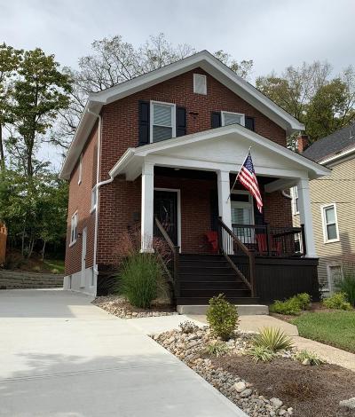 Cincinnati Single Family Home For Sale: 3961 Marburg Avenue