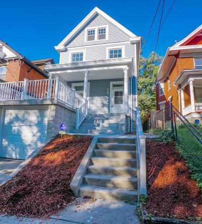 Cincinnati Single Family Home For Sale: 2029 Ryan Avenue