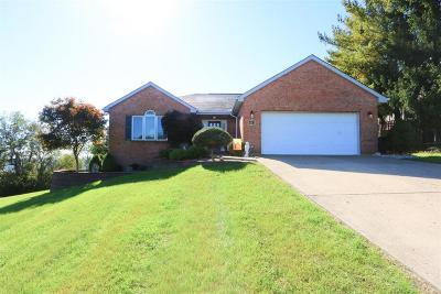 Harrison, Lawrenceburg Single Family Home For Sale: 443 Hidden Valley Drive