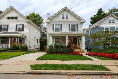 Cincinnati Single Family Home For Sale: 3309 Monteith Avenue
