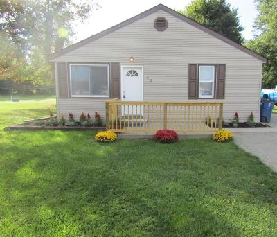 Wilmington OH Single Family Home For Sale: $95,000