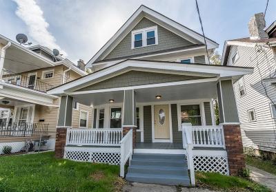 Cincinnati Single Family Home For Sale: 1619 Clarewood Avenue
