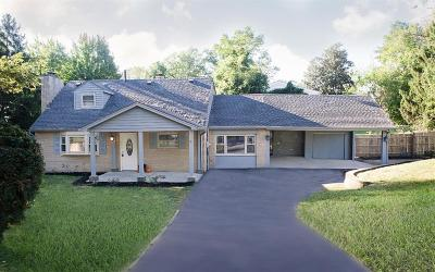 Blue Ash Single Family Home For Sale: 5000 Hagewa Drive