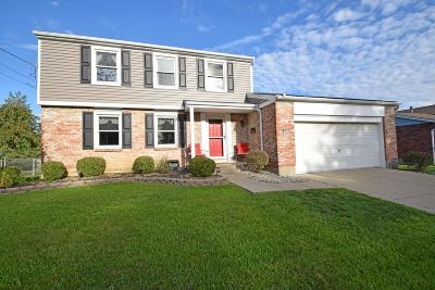 Cincinnati OH Single Family Home For Sale: $185,000