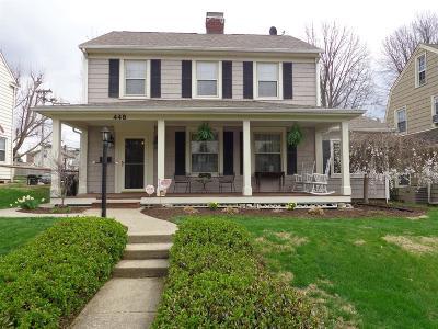 Hamilton Single Family Home For Sale: 448 Dick Avenue