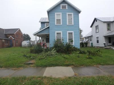 Miamisburg Single Family Home For Sale: 824 E Kercher Street