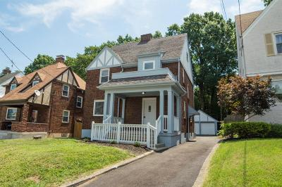 Cincinnati Single Family Home For Sale: 2177 Crane Avenue