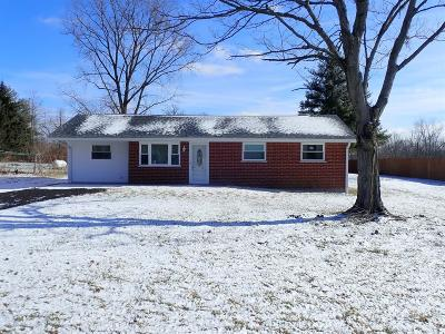 Morgan Twp Single Family Home For Sale: 1724 Bell Road