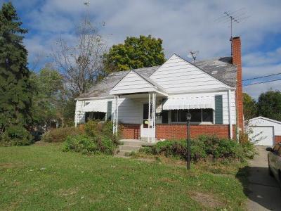 Colerain Twp Single Family Home For Sale: 2528 Cornwall Drive