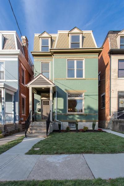 Cincinnati Single Family Home For Sale: 1832 Chase Avenue