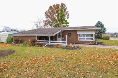 Hamilton Single Family Home For Sale: 166 Hermay Drive