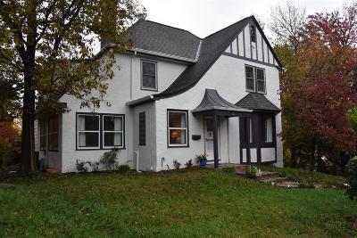 Cincinnati Single Family Home For Sale: 1308 Paddock Hills Avenue
