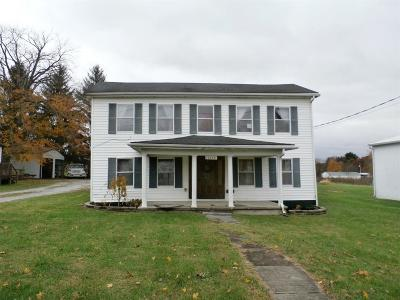 Cherry Fork OH Single Family Home For Sale: $89,900