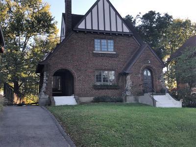 Cincinnati Single Family Home For Sale: 595 Terrace Avenue