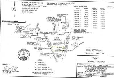Adams County, Brown County, Clinton County, Highland County Residential Lots & Land For Sale: 7415 Us Rt 68