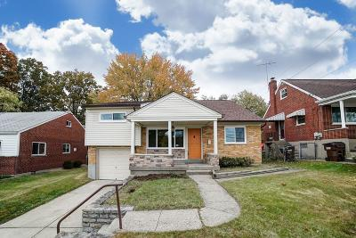 Green Twp Single Family Home For Sale: 5458 Lawrence Road