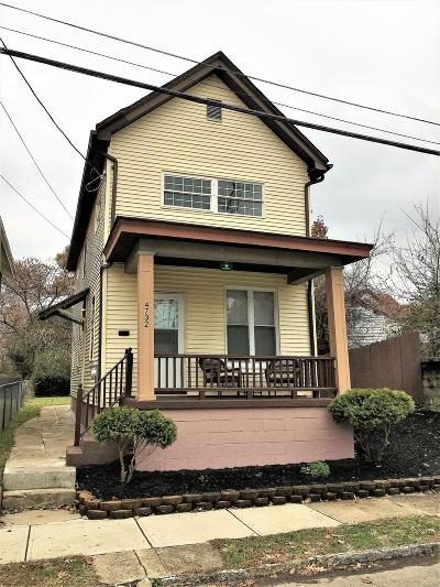 Norwood Single Family Home For Sale: 4732 Franklin Street