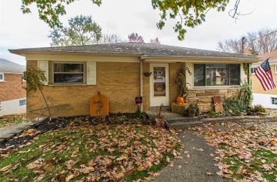 Green Twp Single Family Home For Sale: 3340 Stevie Lane