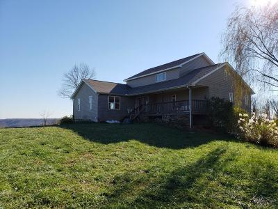 Brown County Single Family Home For Sale: 4804 Pisgah Hill Road
