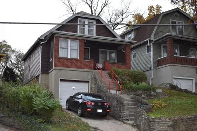 Cincinnati OH Single Family Home For Sale: $47,000