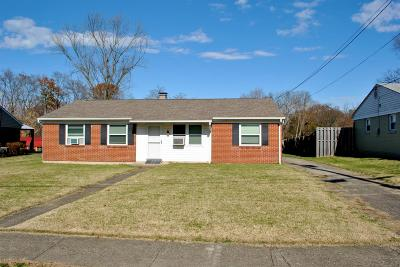 Clermont County Single Family Home For Sale: 644 Charwood Drive