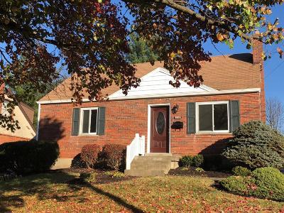 Cincinnati Single Family Home For Sale: 8558 Darnell Avenue