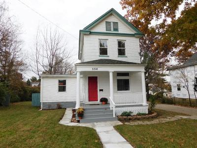 Cincinnati OH Single Family Home For Sale: $175,000