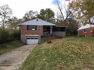 Sharonville Single Family Home For Sale: 11029 Sharon Meadows Drive