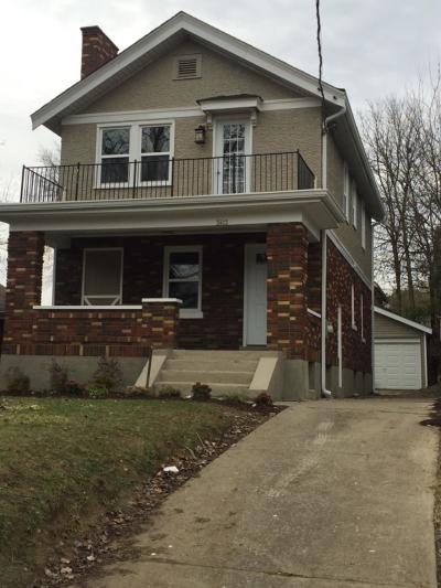 Cincinnati Single Family Home For Sale: 3472 Wabash Avenue