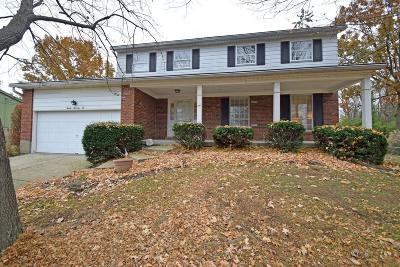 Hamilton County Single Family Home For Sale: 2072 Eight Mile Road