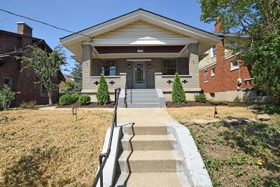 Cincinnati Single Family Home For Sale: 1628 S Argyle Place