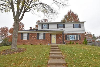 Cincinnati Single Family Home For Sale: 1644 Hilltree Drive