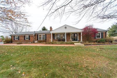 Preble County Single Family Home For Sale: 1636 Bantas Creek Road