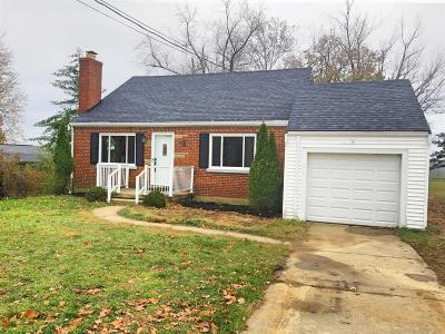 Green Twp Single Family Home For Sale: 4497 Boomer Road
