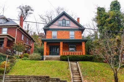Cincinnati Single Family Home For Sale: 3433 Ruther Avenue