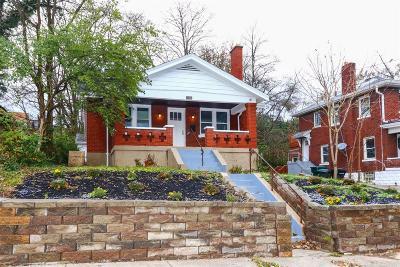 Cincinnati Single Family Home For Sale: 2029 Alvin Street