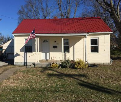 Adams County, Brown County, Clinton County, Highland County Single Family Home For Sale: 424 E Mulberry Street