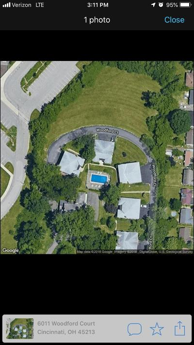 Cincinnati Condo/Townhouse For Sale: 6035 Woodford Court #1