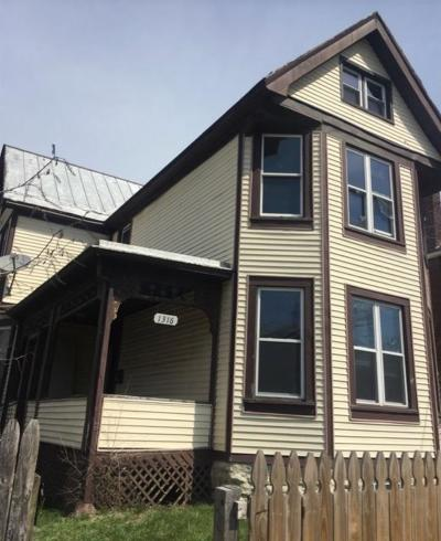 Cincinnati OH Single Family Home For Sale: $39,900