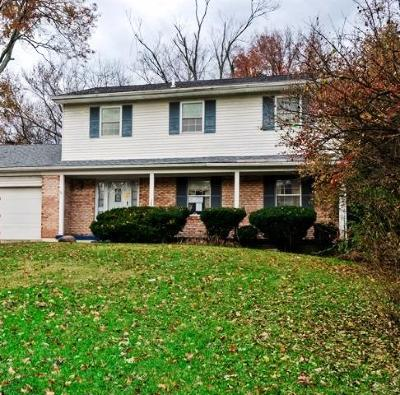 Single Family Home For Sale: 3780 Glendale Milford Road