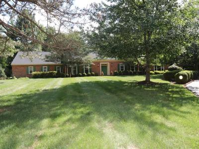 Single Family Home For Sale: 7375 Indian Hill Road