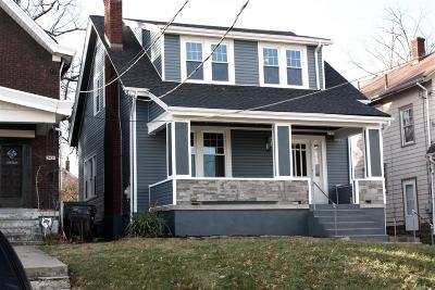 Cincinnati Single Family Home For Sale: 3433 Bevis Avenue