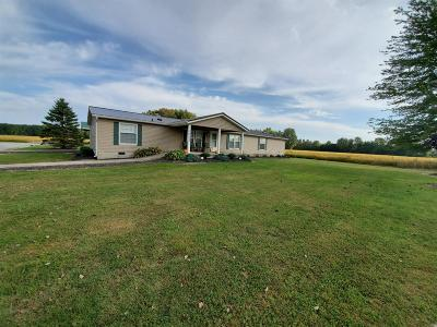 Brown County Farm For Sale: 14102 New Harmony Salem Road