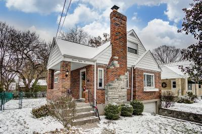 Cincinnati Single Family Home For Sale: 1182 Cherevilla Lane