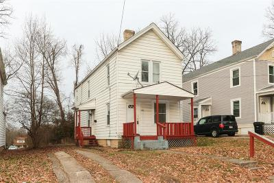 Cincinnati OH Single Family Home For Sale: $79,900