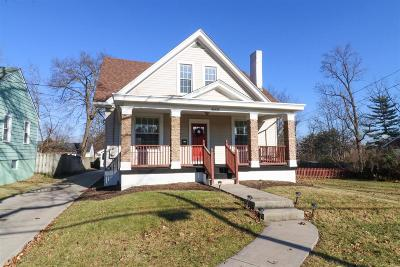 Single Family Home For Sale: 4606 Sycamore Road