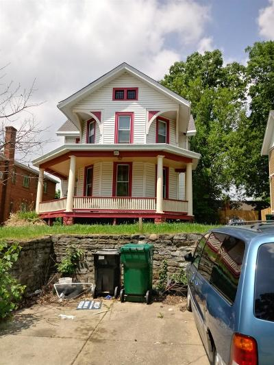 Cincinnati OH Single Family Home For Sale: $126,000