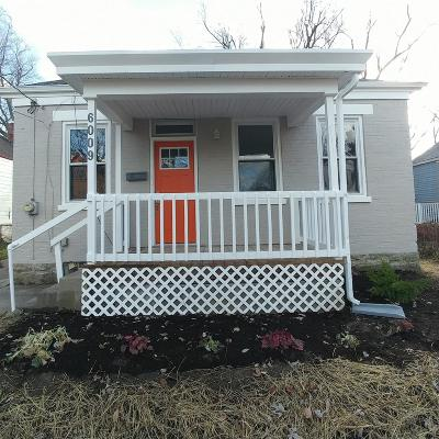 Cincinnati OH Single Family Home For Sale: $139,500