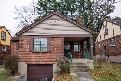 Cincinnati OH Single Family Home For Sale: $93,000