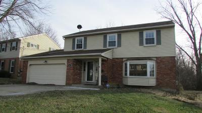 Cincinnati OH Single Family Home For Sale: $169,900